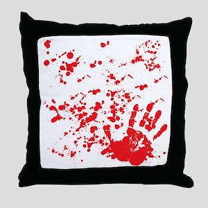 flesh wound Throw Pillow
