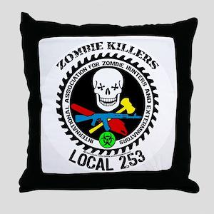 u253 Throw Pillow