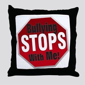 Good-Logo-StopSign Throw Pillow