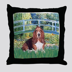 Lily Bridge Basset Throw Pillow