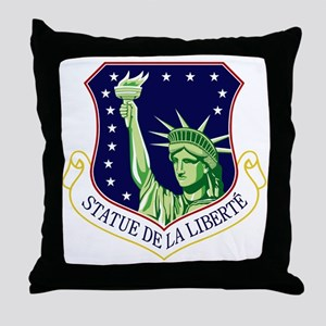 48th Fighter Wing Throw Pillow