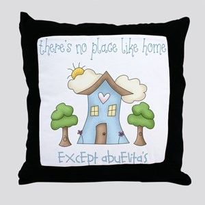 no place like grandmas Throw Pillow