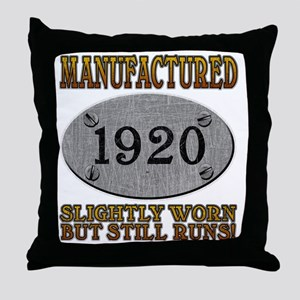 1920 Throw Pillow