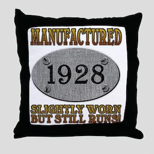 1928 Throw Pillow