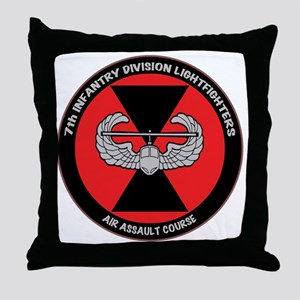 airassault_7th_trans Throw Pillow
