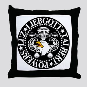 Band of Brothers Crest Throw Pillow