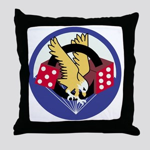 Army-506th-Infantry-Para-Dice Throw Pillow