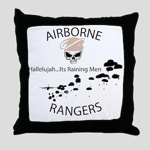 airborne ranger Throw Pillow
