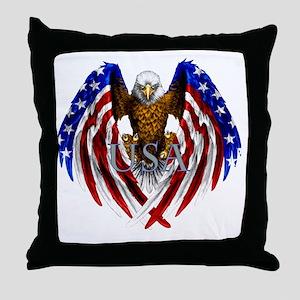 eagle2 Throw Pillow
