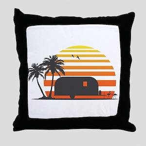 California Streamin' Throw Pillow