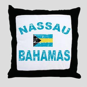 Nassau Bahamas designs Throw Pillow