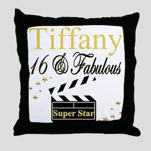 FABULOUS 16TH Throw Pillow