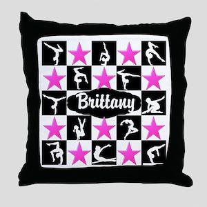 CHAMPION GYMNAST Throw Pillow