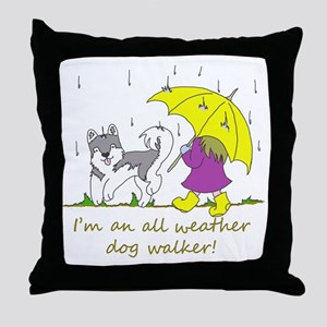 awdw_grey Throw Pillow