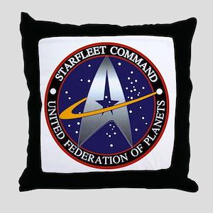 Starfleet Command Throw Pillow