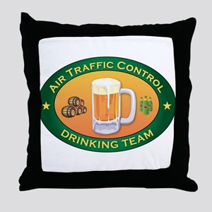 Air Traffic Control Team Throw Pillow