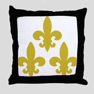 Cadien Tri Fleur Throw Pillow
