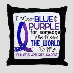 RA Means World to Me 1 Throw Pillow