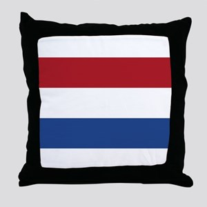 Flag of the Netherlands Throw Pillow