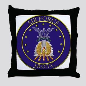 AIR FORCE J.R.O.T.C. Throw Pillow