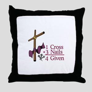 4 Given Throw Pillow