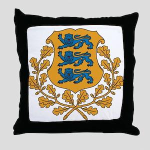 Estonia-Eesti Vabariik Throw Pillow
