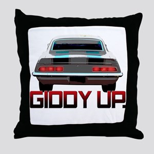 Camaro - Giddy Up Throw Pillow