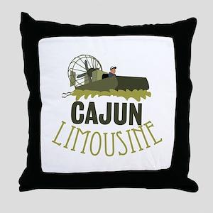 Cajun Limousine Throw Pillow