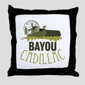 Bayou Cadillac Throw Pillow