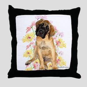 Mastiff 87 Throw Pillow