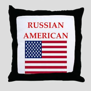 russian Throw Pillow