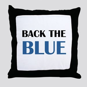 BACK THE BLUE 2 Throw Pillow