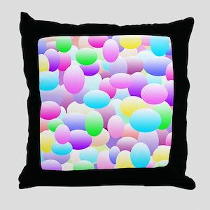 Bubble Eggs Light Throw Pillow