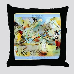 Seychelles Throw Pillow