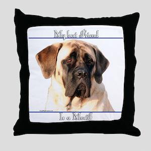 Mastiff 64 Throw Pillow