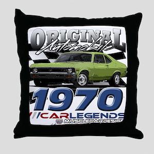 1970 Nova Throw Pillow