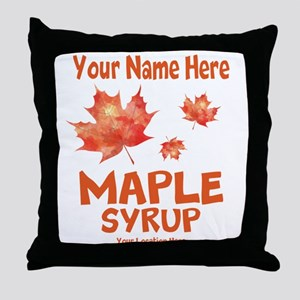 Your Maple Syrup Throw Pillow