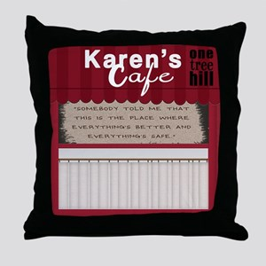 One Tree Hill TV Throw Pillow