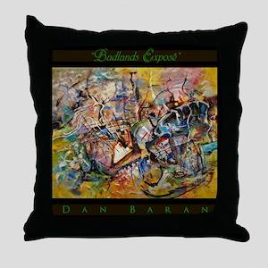 Badlands Expose Throw Pillow