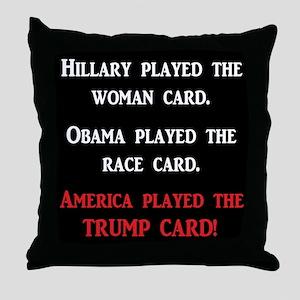 trump Throw Pillow