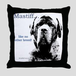 Mastiff 148 Throw Pillow
