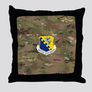 31st Fighter Wing Throw Pillow
