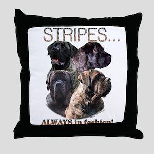 Mastiff 80 Throw Pillow