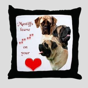 Mastiff 88 Throw Pillow