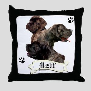 Mastiff 97 Throw Pillow