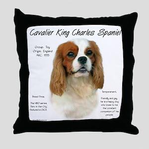 Cavalier (Blenheim) Throw Pillow