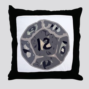 12 Sided Die Throw Pillow