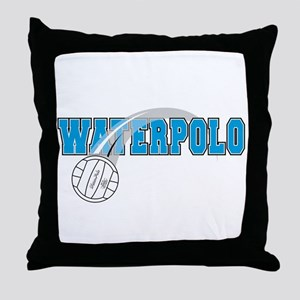 WATER POLO! Throw Pillow