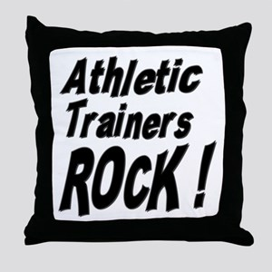 Athletic Trainers Rock ! Throw Pillow