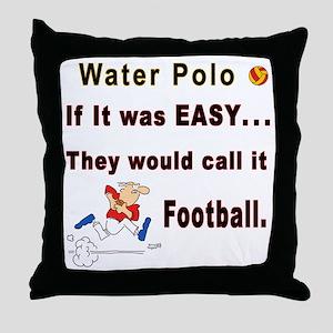 H2O Polo Throw Pillow